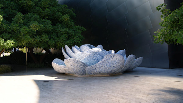 Blue Ribbon Garden at Walt Disney Concert Hall