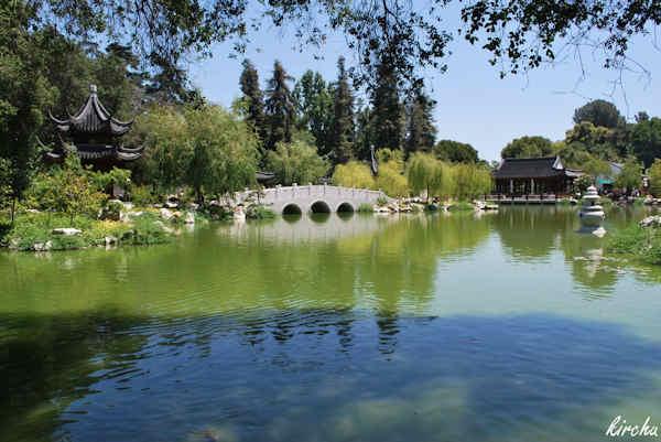 Jardins botaniques de la Huntington Library à San Marino