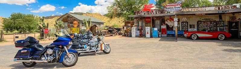 Route 66 à moto