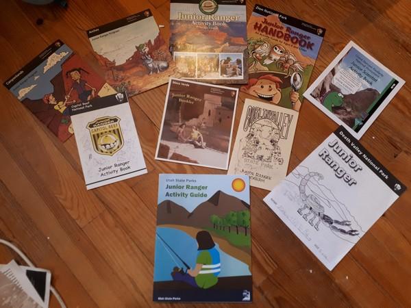 Brochures Junior Rangers