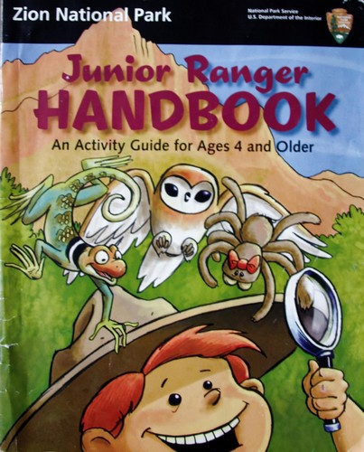 Brochure Junior Rangers Zion NP