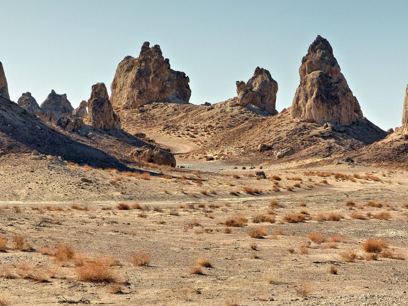 Visiter les Trona Pinnacles en Californie