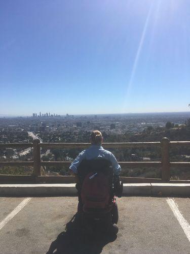 Los Angeles depuis les collines d'Hollywood