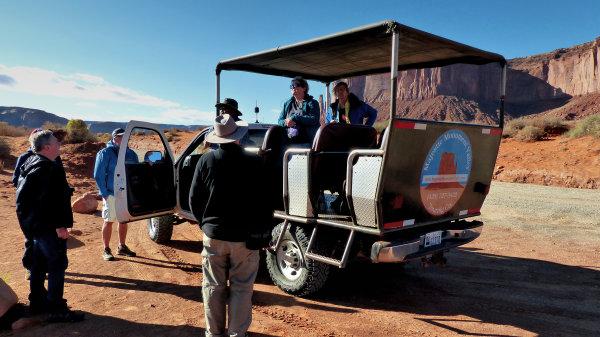 Véhicule 4x4 de Majestic Monument Valley Touring