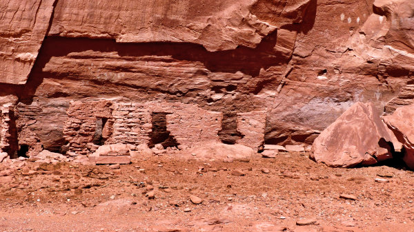 House of Many Hands Ruin, Backcountry Tour Monument Valley