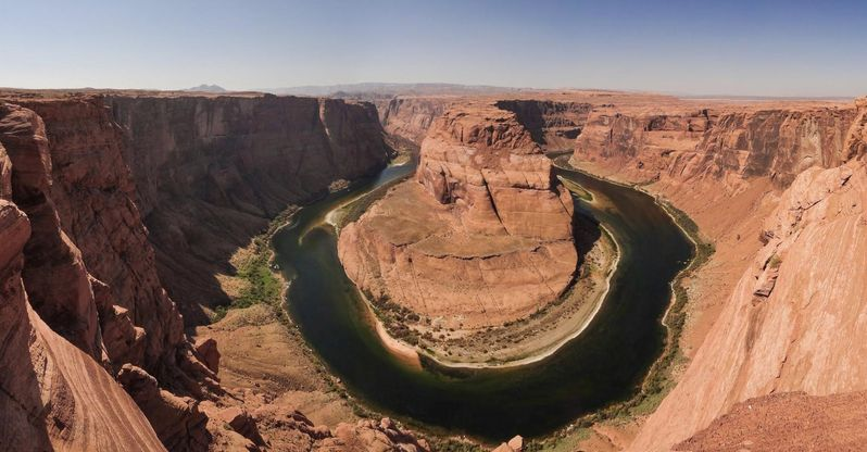 Visiter Horseshoe Bend près de Page en Arizona
