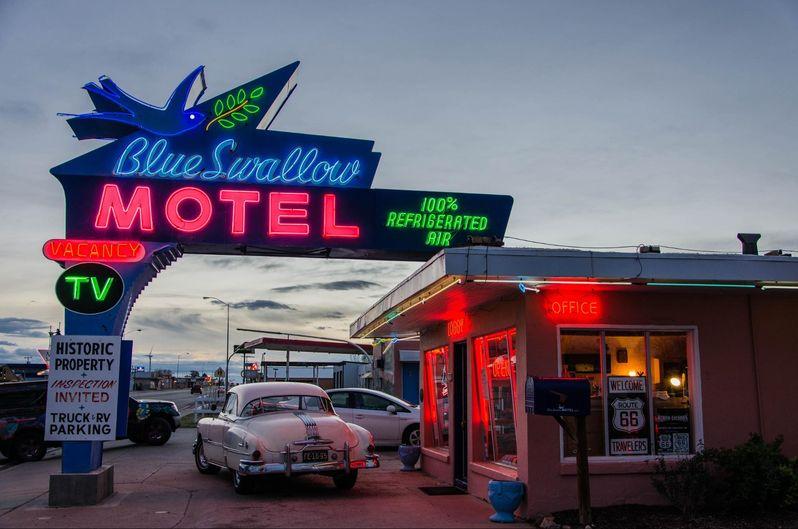 Visiter la Route 66 au Nouveau-Mexique