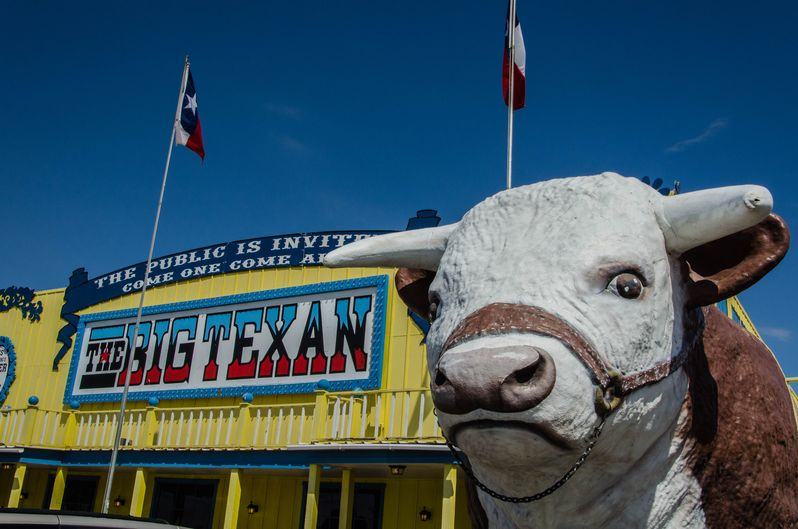 Visiter la Route 66 au Texas