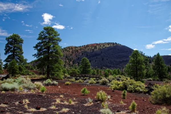 Sunset Crater Volcano Arizona