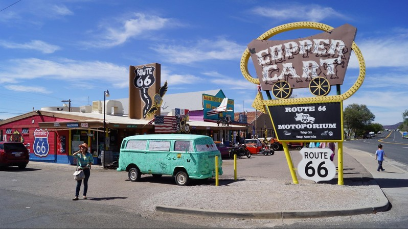 Visiter la Route 66 en Arizona