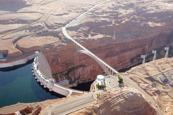 Page barrage de Glen Canyon Arizona