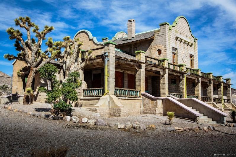 Visiter Rhyolite Ghost Town au Nevada