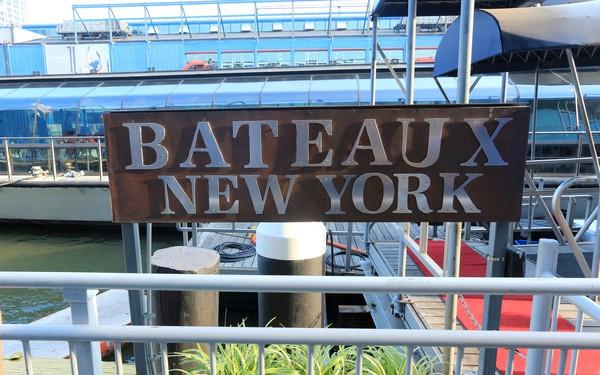 Bateaux New York à quai dîner-croisière