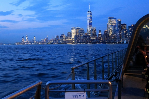 Diner crosière VIP à New York USA