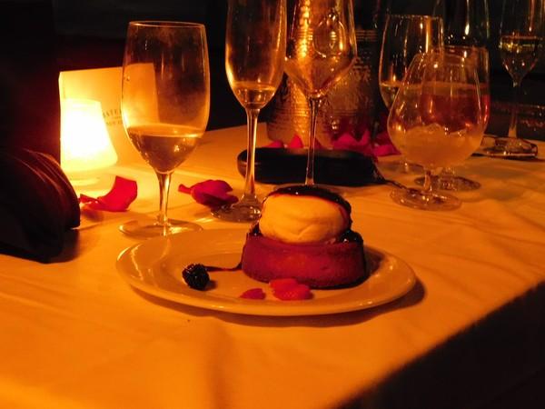 Bateaux New York dîner-croisière dessert