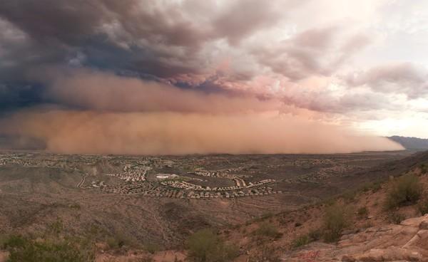 Tempête de sable à Phoenix