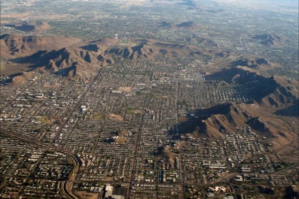 Climat Phoenix Arizona Ouest USA