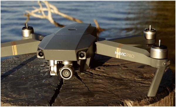 Caméra du drone Mavic Pro1