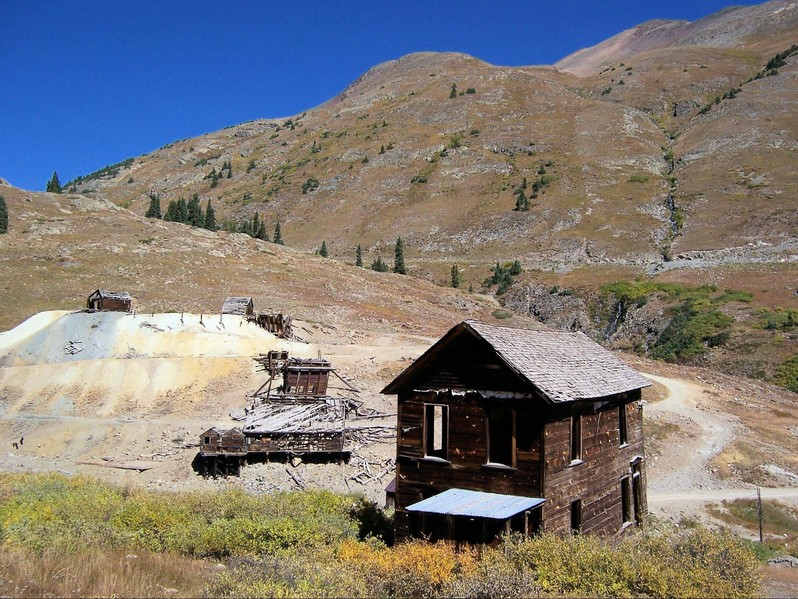 Animas Forks Ghost Town Colorado USA