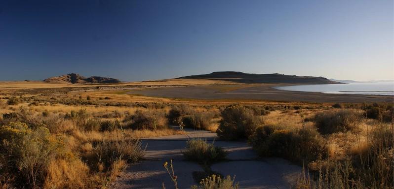 Antelope Island State Park Utah USA