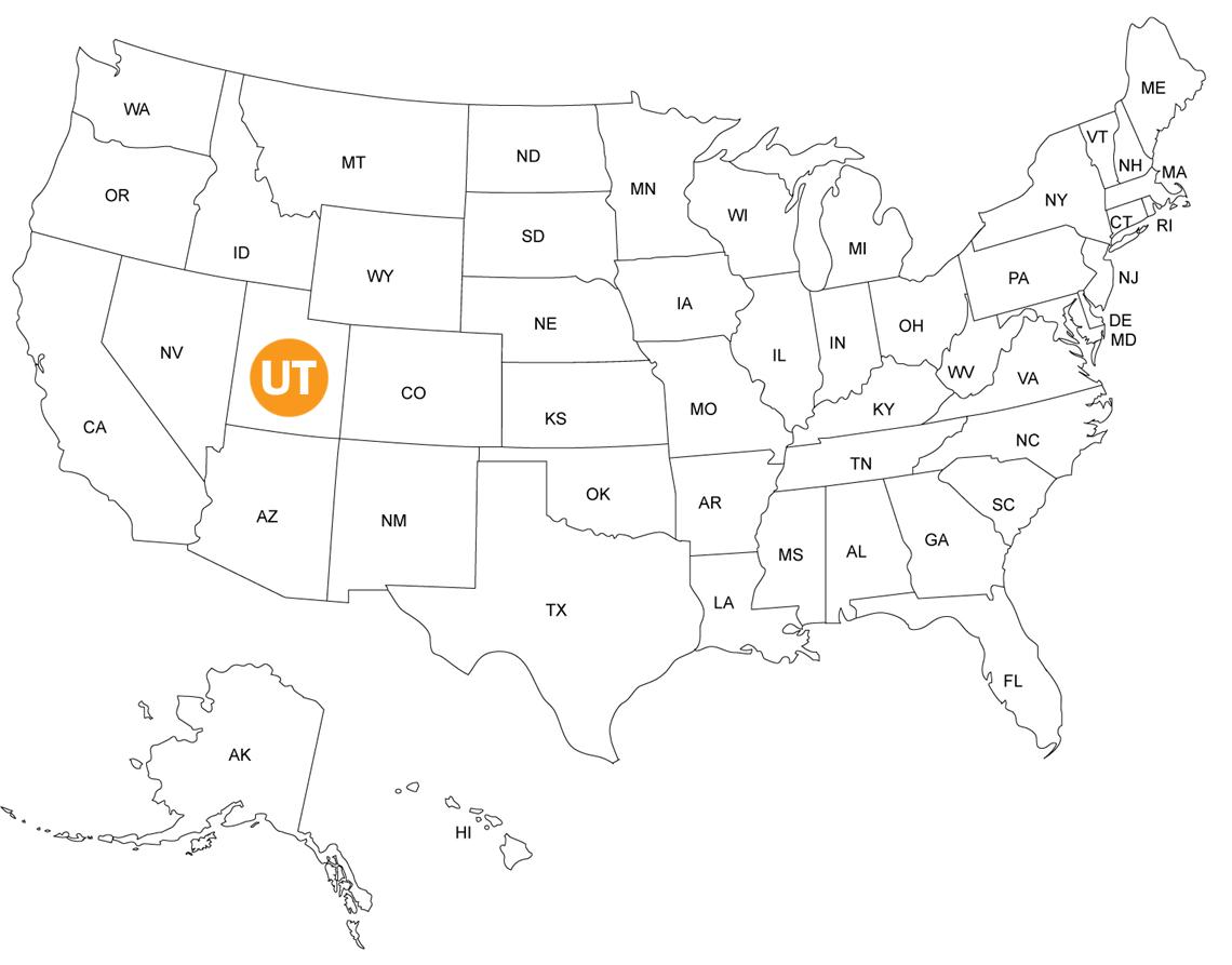L'Utah aux USA