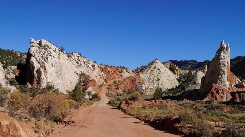 Cottonwood Canyon Road Utah USA