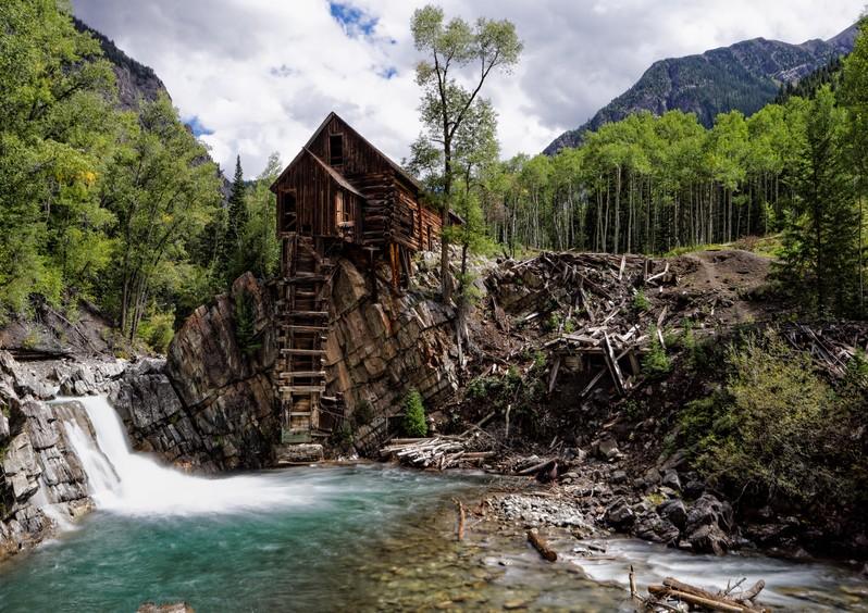 Crystal Mill Colorado USA