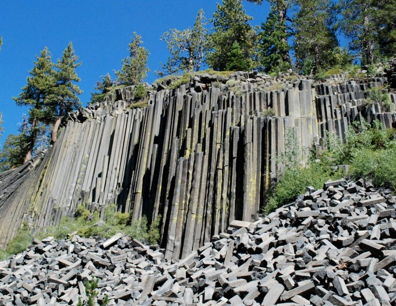 Devils Postpile National Monument Californie USA
