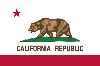 Drapeau Californie