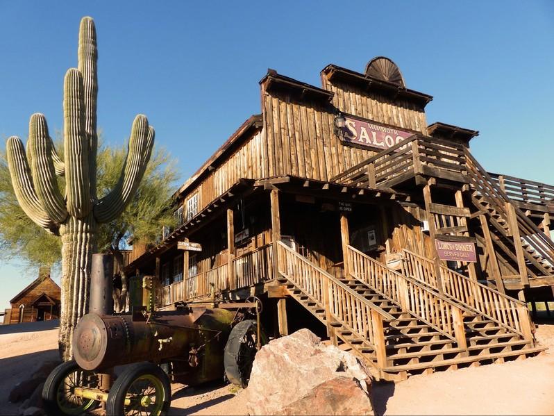 Goldfield Ghost Town Arizona USA