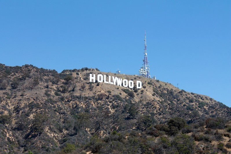 Panneau Hollywood Sign Los Angeles Californie USA