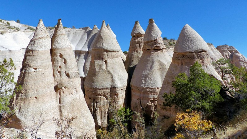 Kasha-Katuwe Tent Rocks National Monument Nouveau-Mexique USA
