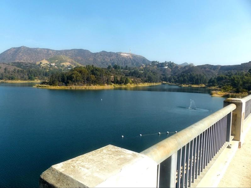 Lake Hollywood Los Angeles Californie USA