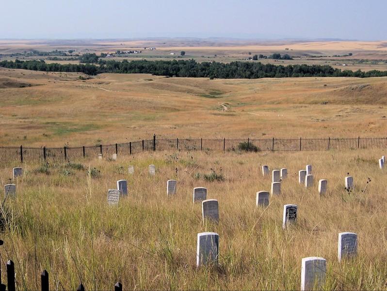 Little Bighorn Battlefield National Monument Montana USA