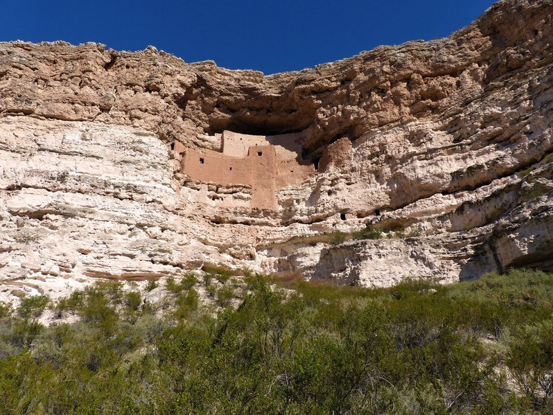 Visiter Montezuma Castle National Monument en Arizona USA