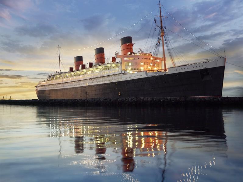 Queen Mary Long Beach Californie USA