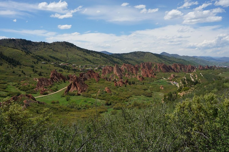 Roxborough State Park Colorado USA