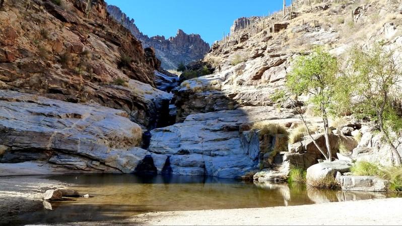 Visiter Sabino Canyon en Arizona USA