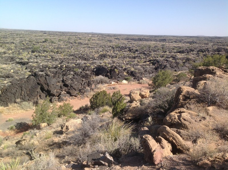 Valley of Fires Recreation Area Nouveau-Mexique USA