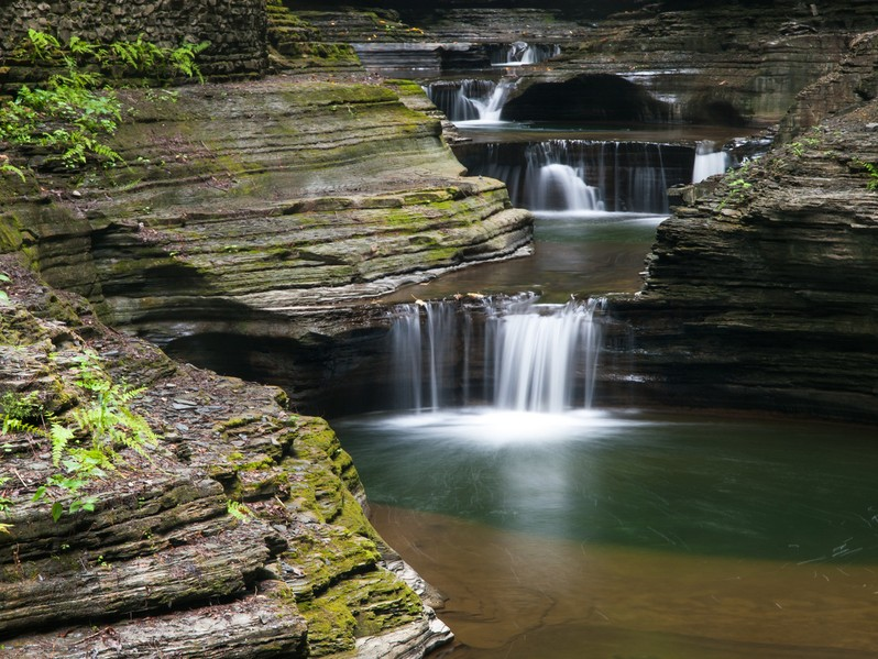 Watkins glen State Park New York USA