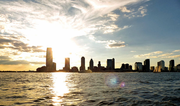 Vue depuis la promenade de Battery Park