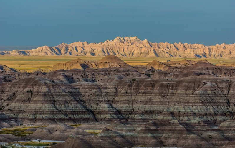Badlands National Park Dakota du Sud USA