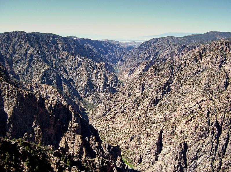 Black Canyon of the Gunnison Colorado USA