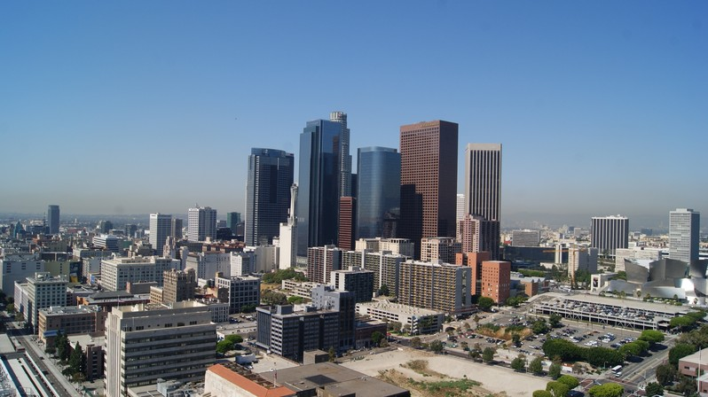 Downtown Los Angeles Californie USA