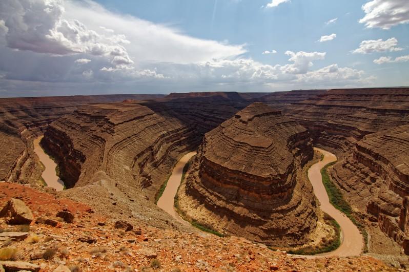 Goosenecks State Park Utah USA