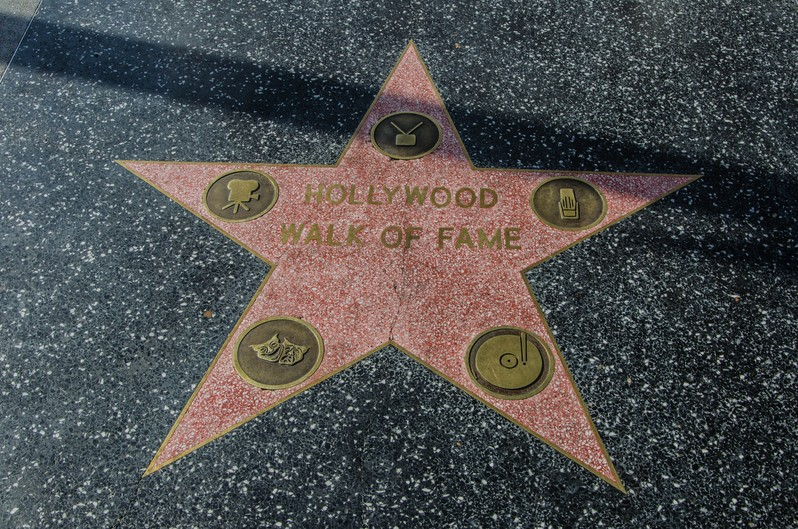 Hollywood Walk of Fame Los Angeles Californie USA