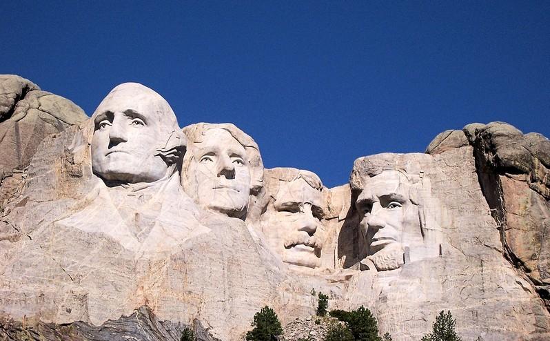 Mont Rushmore Dakota du Sud USA