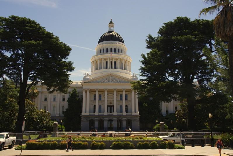 Capitole Sacramento Californie USA
