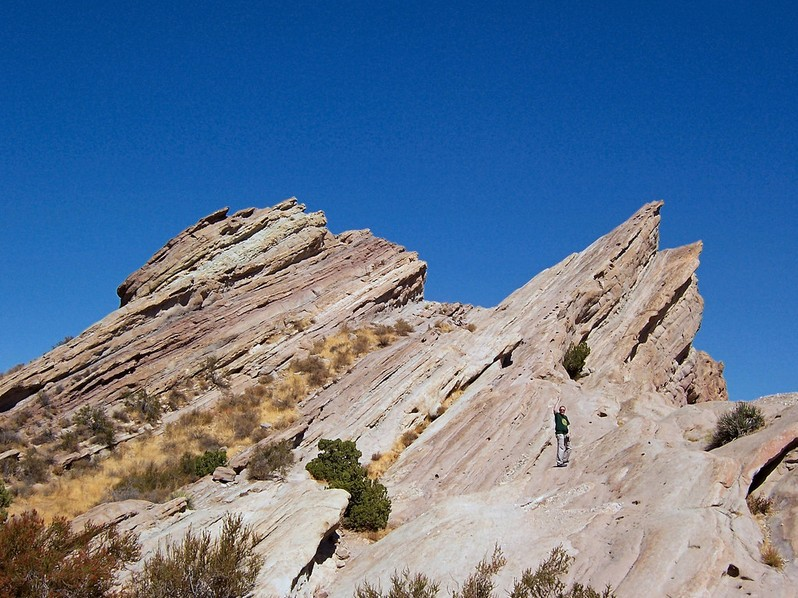 Vasquez Rocks Californie USA