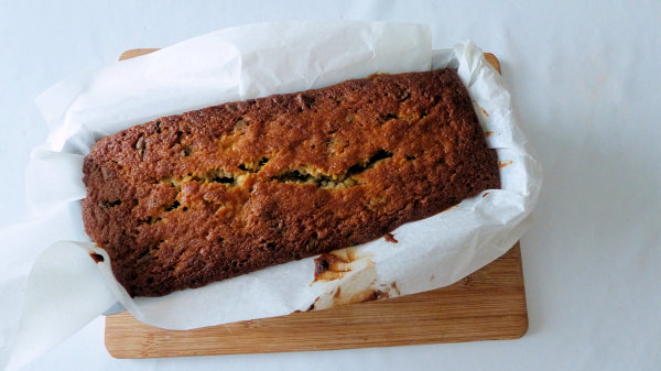 Banana Bread juste sorti du four